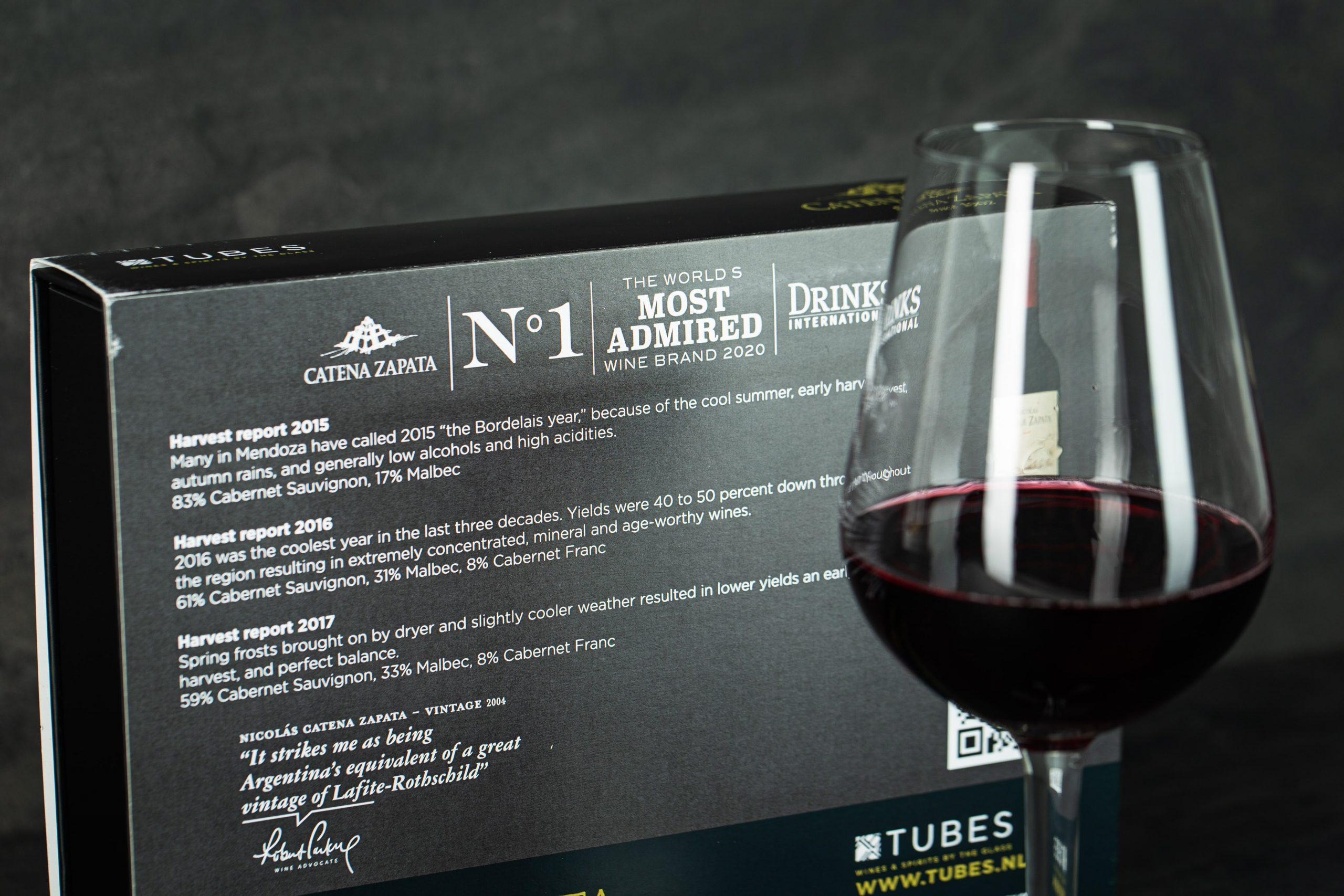 Dutch company TUBES bottles wine for Most Admired Wine Brand 2020